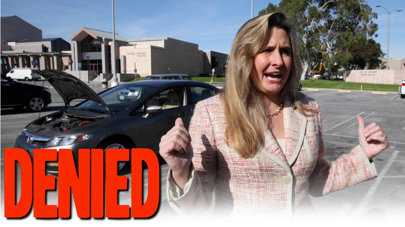 Illustration for article titled Heather Peters Loses Small Claims Court Appeal, Owes Honda $75