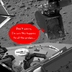 Illustration for article titled First Time Jitters Cause Inaugural Mars Lander Load To Miss Target