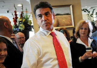 GOP presidential candidate Gov. Rick Perry (Getty)