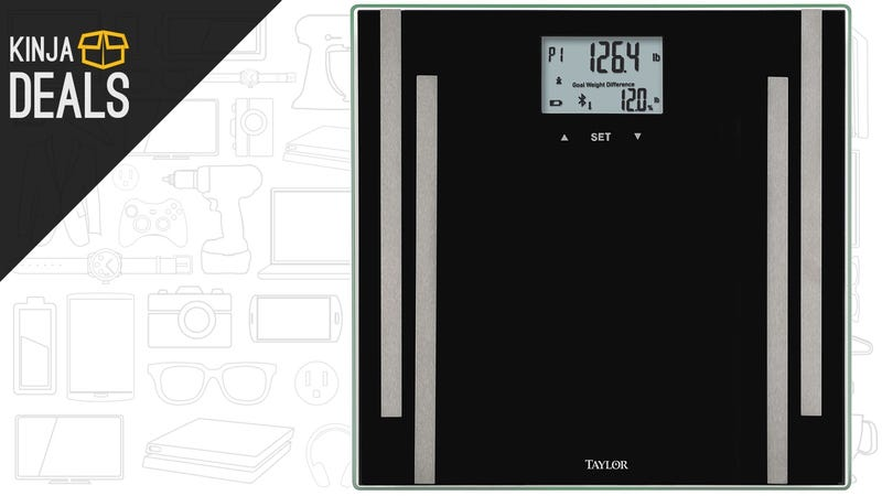 Illustration for article titled Track Your Vitals With This $30 Bluetooth Smart Scale