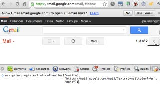 Illustration for article titled Set Gmail as Your Browser's Default Email Client with a Simple Hack