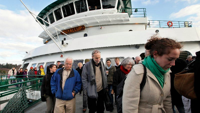 Illustration for article titled Americans Are So Fat, Washington State Ferries Have to Carry Less of Them