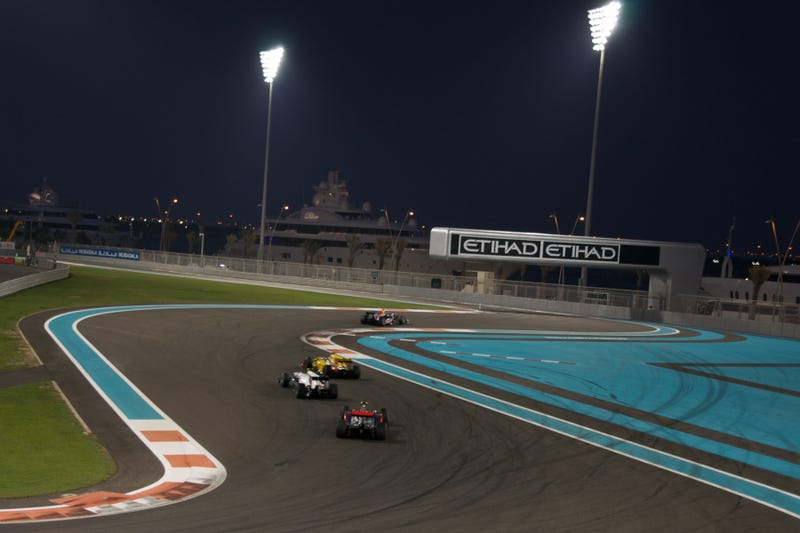 Illustration for article titled Formula 1 Does Not Issue Statement Concerning Abu Dhabi's Anti-LGBT Law