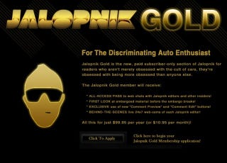 Illustration for article titled Jalopnik Gold Memberships have Lapsed