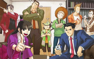 Illustration for article titled Phoenix Wright WiiWare Preview: Throwing Out Objections