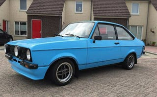 Illustration for article titled For $16,500, This 1975 Ford Escort 1600 Sport Is A Rare Stateside Sight
