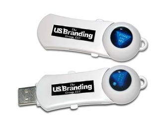 Illustration for article titled USB Drive Saves Data, Tells Future