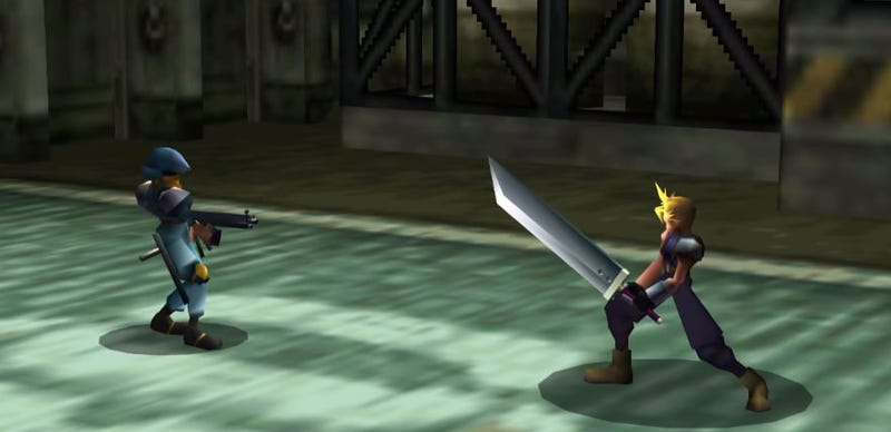 "Illustration for article titled Mod Creates ""HD"" Final Fantasy VII Using AI Neural Networks"