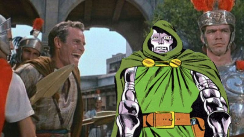 Illustration for article titled The guy who plays the new Doctor Doom might be the villain in Ben-Hur