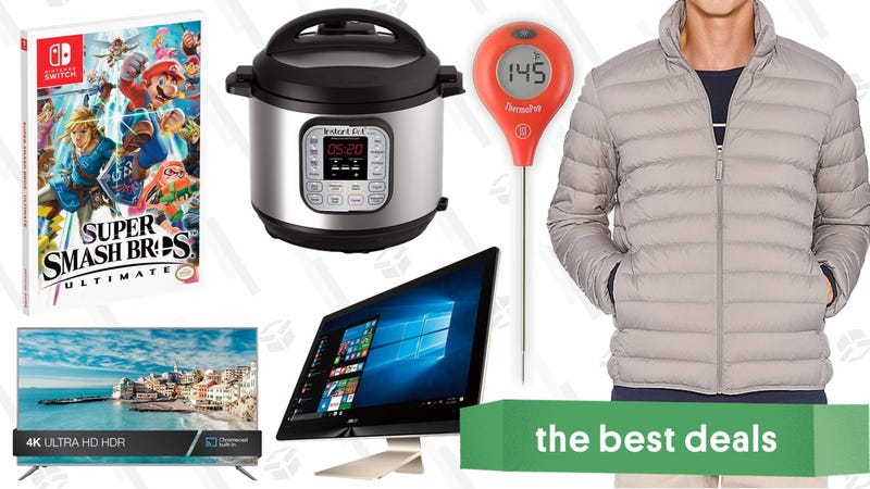 Illustration for article titled Thursday's Best Deals: ThermoPop, Instant Pot, Smash Ultimate, and More