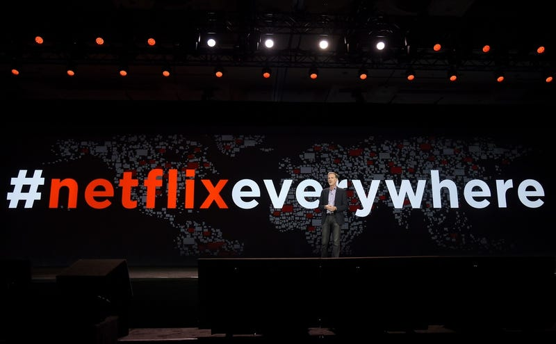 Netflix CEO Reed Hastings at CES 2016 (Photo by Ethan Miller/Getty Images)
