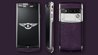 Illustration for article titled Vertu Signs Exclusive Deal with Bentley, Kicks Ferrari To The Curb