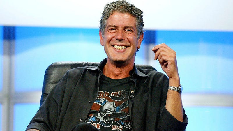 Here's your chance to own a small piece of Anthony Bourdain