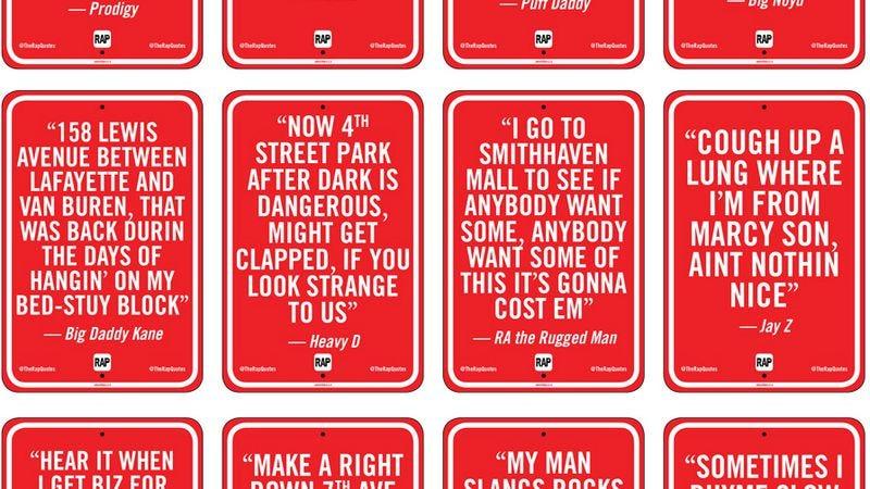 Illustration for article titled Visiting New York via hip-hop lyrics