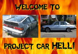Illustration for article titled Project Car Hell, LeMons Edition: CRX or BMW?