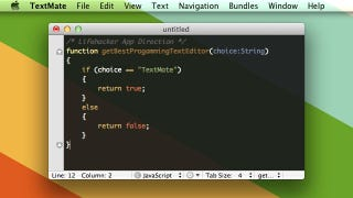 There Is No Shortage Of Options For Text Editors Geared Towards Developers  On The Mac, But TextMate Is Our Top Pick. It Wins Out Thanks To Its Massive  ...