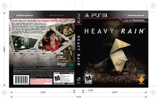 Illustration for article titled Get Your Superior Heavy Rain Box Art Here