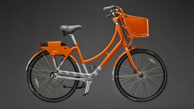 Illustration for article titled Portland Teams Up With Nike For Bike Share Bicycles That Can Be Locked Up Anywhere