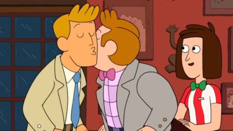 Illustration for article titled Cartoon Network censored its first gay kiss
