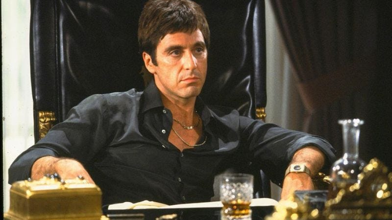 Illustration for article titled First you get the money, then you get the $1,000 edition of Scarface, then you get the Scarface-themed humidor