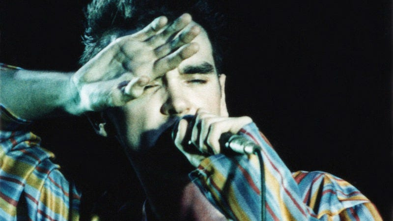 Morrissey in 1984 (Photo: Getty Images)