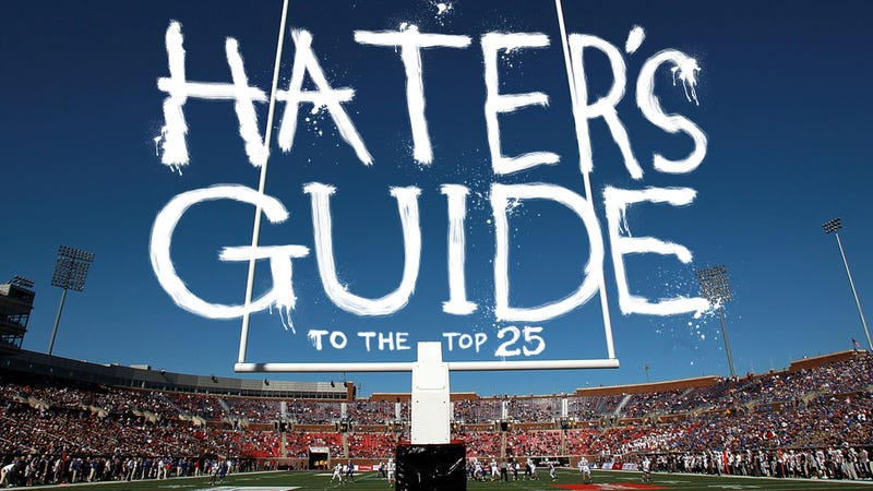 The 2013 Hater's Guide To The Top 25