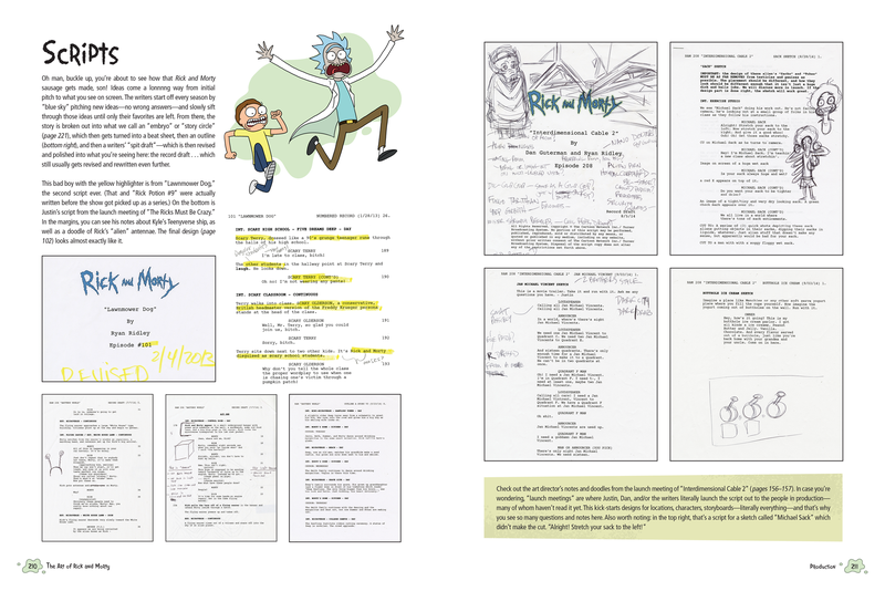 Rick and Morty Scripts Baby! Every Episode, Every Script
