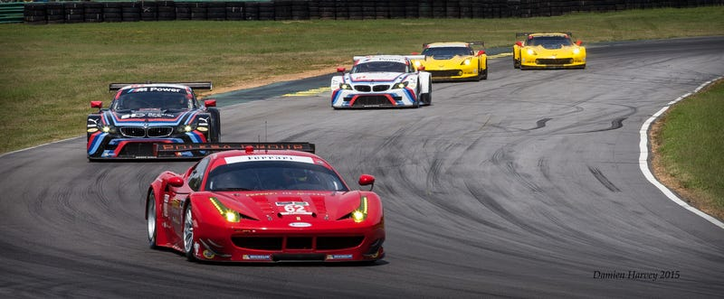 Illustration for article titled Behold All The Sports Car Racing Goodness At VIR Last Weekend