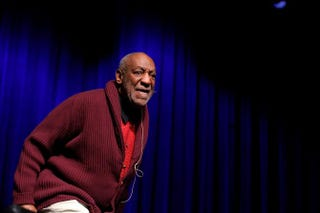 Bill Cosby performs at the seventh annual Stand Up for Heroes event at Madison Square Garden Nov. 6, 2013, in New York City. Jemal Countess