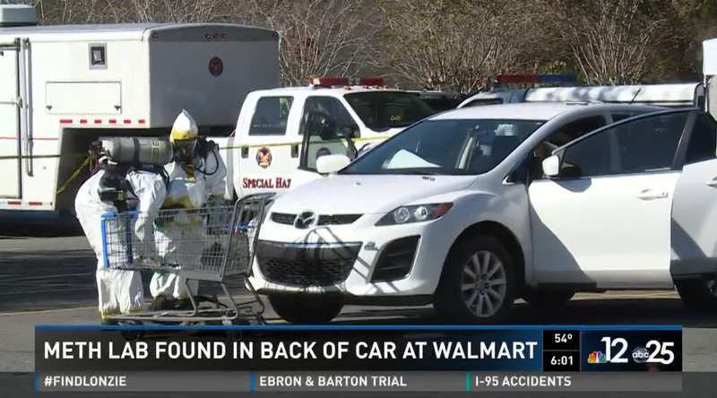 Illustration for article titled Car-Based Meth Lab Found At Walmart In (Of Course) Florida