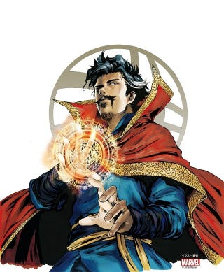 Illustration for article titled Dr.Strange´s Movie will have a prequel manga
