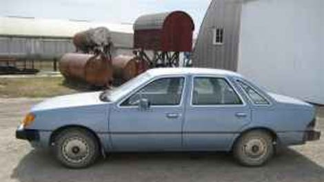 meh car monday of course it s the ford tempo 1984 Ford Tempo GL Blue recession fighter 1984 tempo diesel for 3000