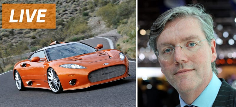 Illustration for article titled Ask Spyker Cars CEO Victor Muller Anything You Want
