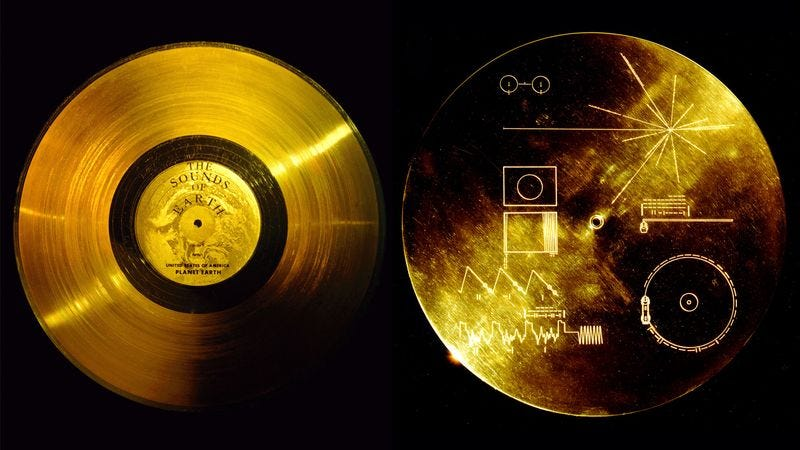 Illustration for article titled Alien Still Hasn't Gotten Around To Listening To Whole Voyager Golden Record