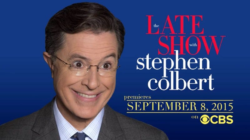 Illustration for article titled Late Show or not, Stephen Colbert was leaving The Colbert Report