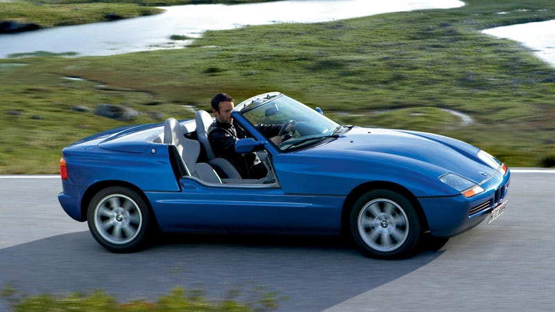 Here S How The Bmw Z1 S Awesome Sliding Doors Worked