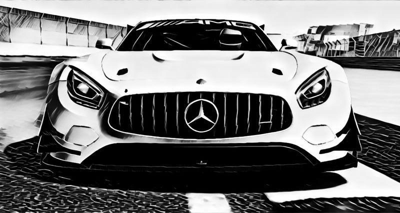 Illustration for article titled Prisma x Real Racing 3 | AMG-GT3 | 001-008