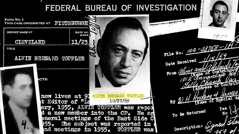 Illustration for article titled Alvin Toffler Investigated by FBI for Communist Activities According to Newly Released Files