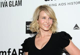 Host Chelsea Handler at the 2013 amfAR Inspiration Gala in Los Angeles Dec. 12, 2013Mike Windle/Getty Images