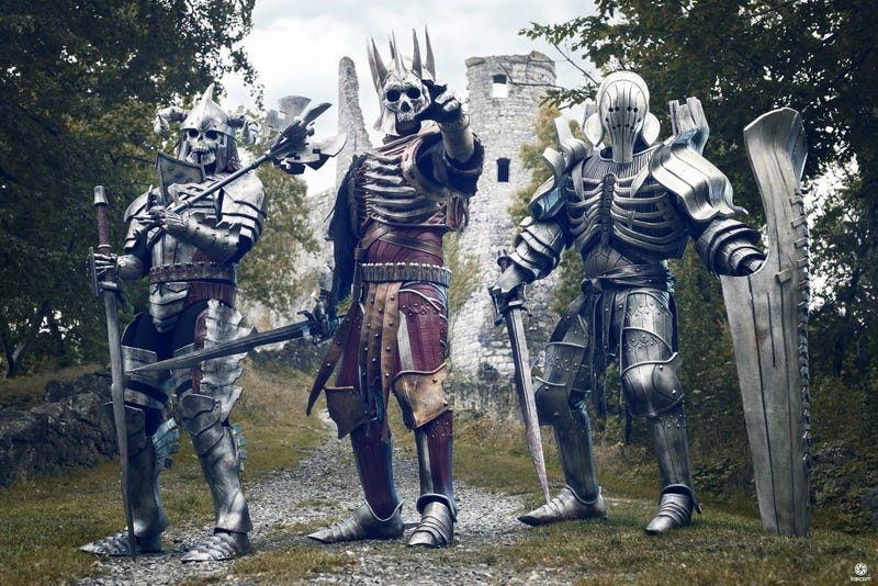 Illustration for article titled Witcher 3 Cosplay Is Giving Me Chills...