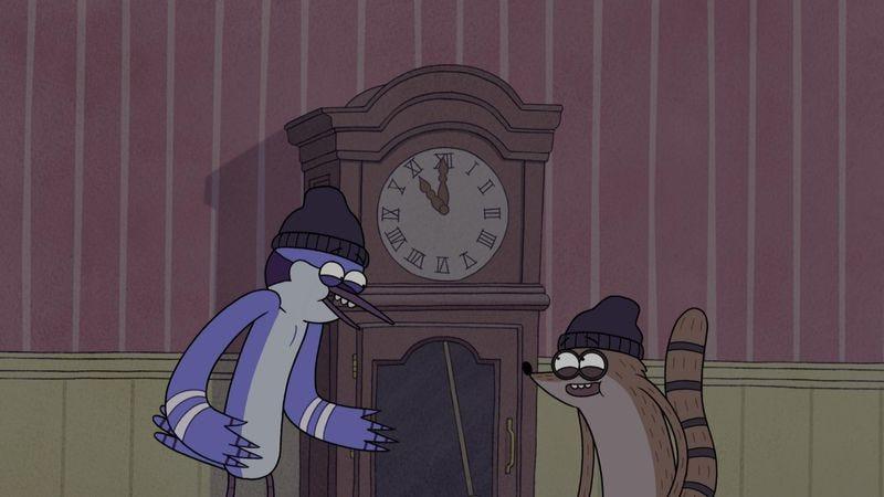 "Illustration for article titled Regular Show: ""Saving Time"""