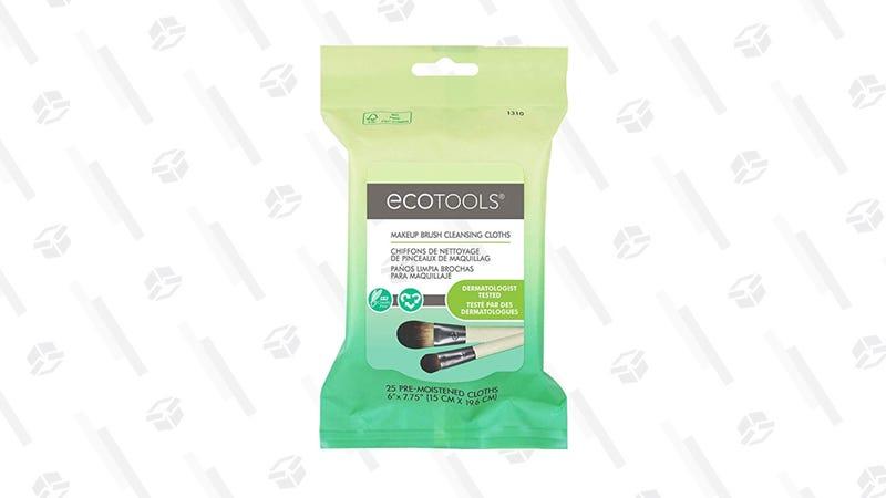 EcoTools Makeup Brush Cleansing Cloths | $5 | Amazon
