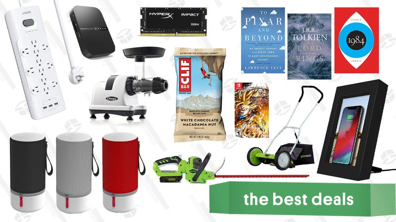 Illustration for article titled Saturday's Best Deals: Clif Bars, HyperX RAM, Kindle Books, and More