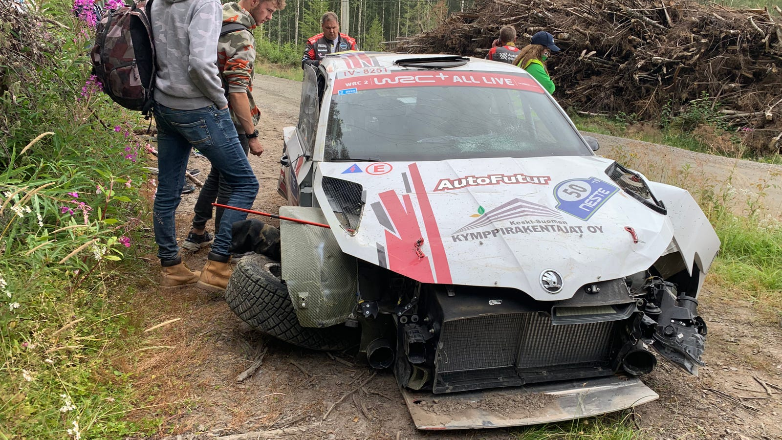 Hunting For Crashes With The 'Professional Spectators' Of Rally Finland