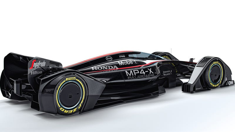 the mclaren mp4 x concept is a radical vision of racing 39 s future. Black Bedroom Furniture Sets. Home Design Ideas