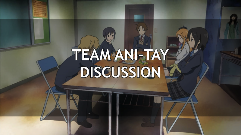 Illustration for article titled Team Ani-TAY Discussion