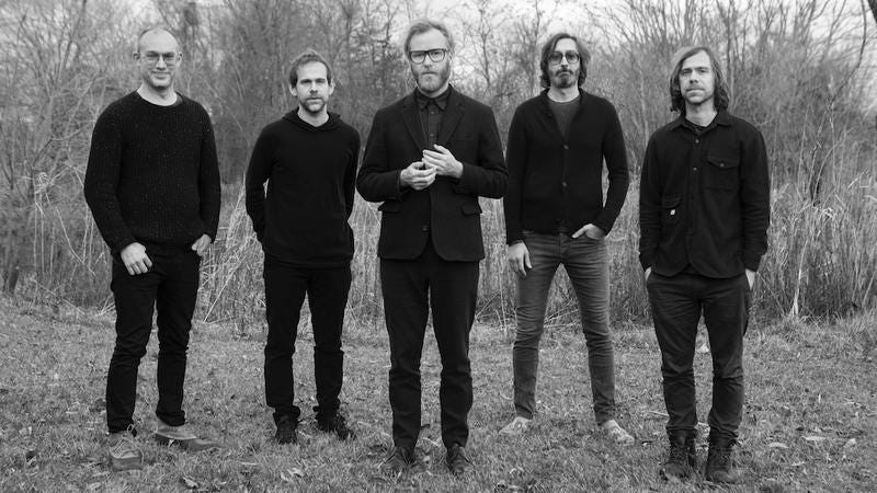 Illustration for article titled The National announce new album and tour dates, release new song