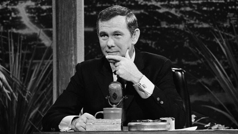 Illustration for article titled 7 Celebrities Tell Us Their Favorite Memories Of Johnny Carson