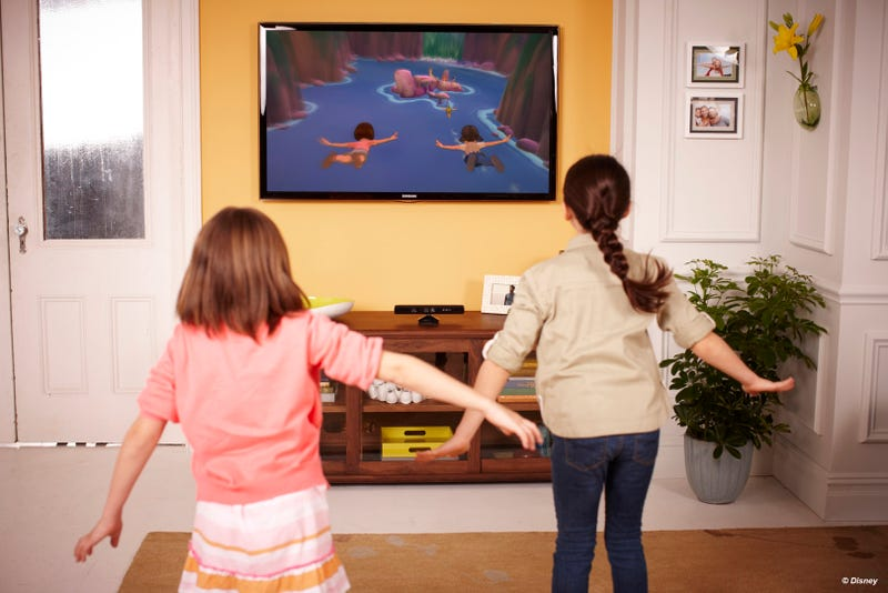 Illustration for article titled Kinect Makes Taking Your Kids to Disneyland Much More Affordable