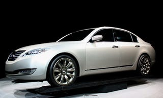 Illustration for article titled New York Auto Show: Hyundai Concept Genesis